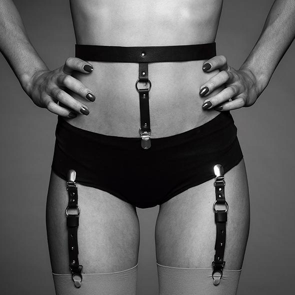 Bijoux Indiscrets – Maze Suspender Underwear & Stockings Belt Brown