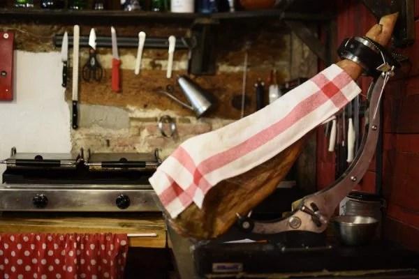 conservar jamón serrano hostelería