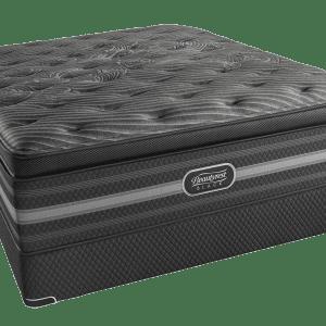 beautyrest black evie plush pillow top