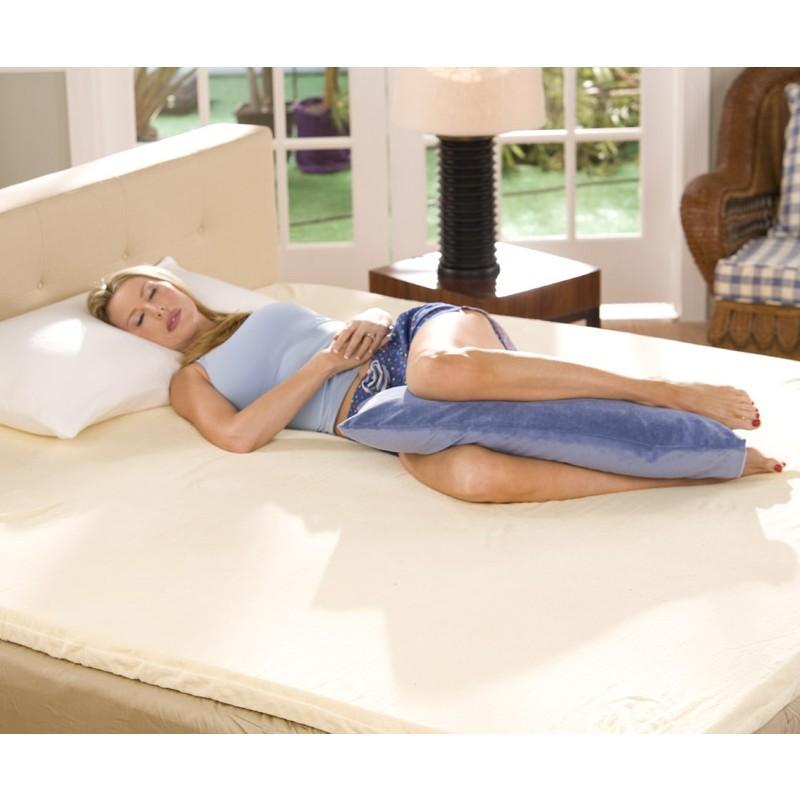 Leg Rest Pillow Light Blue FLAVABP24J01  BedRestsMartcom