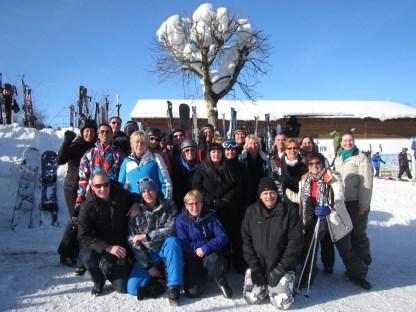 Teambuilding in de sneeuw
