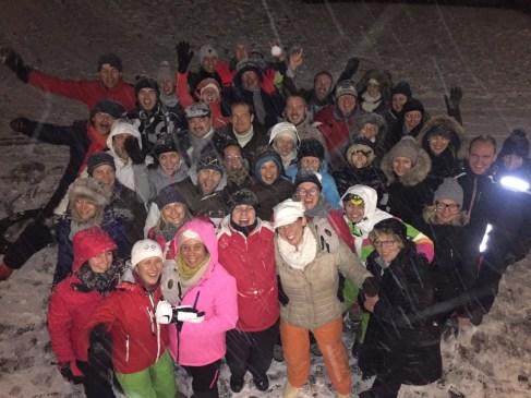 teamuitje wintersport