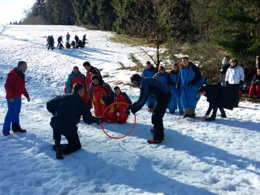 Actie in de sneeuw (80)
