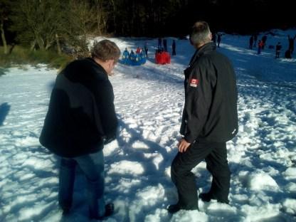 Actie in de sneeuw (90)