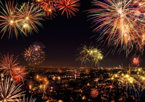 Vuurwerk om het extra feestelijk te maken