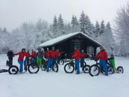 Fat Max E-step in de sneeuw