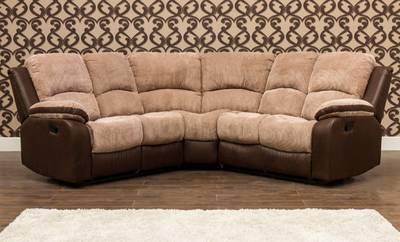 leather corner sofa with electric recliner repair in gurgaon milton suite - bedrock furniture