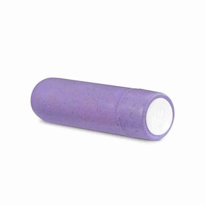Gaia Biodegradable Rechargeable Eco Purple Bullet 2