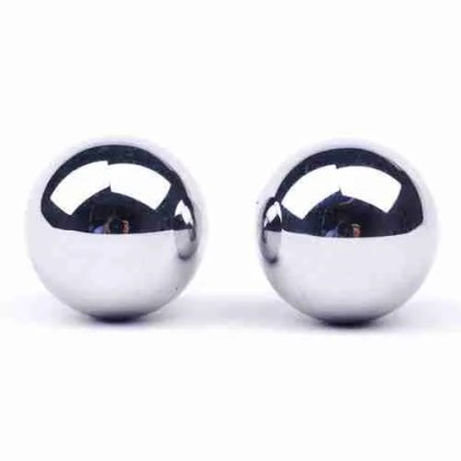 Stainless Steel Duo Balls 1