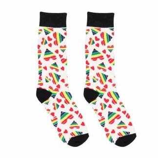 Happy Hearts Sexy Socks 1