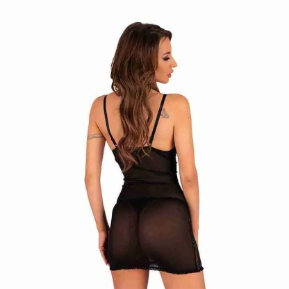 Corsetti Enamell Dress and G-String 2