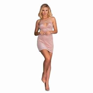 Corsetti Thorjako Nightdress And Thong Pink 1
