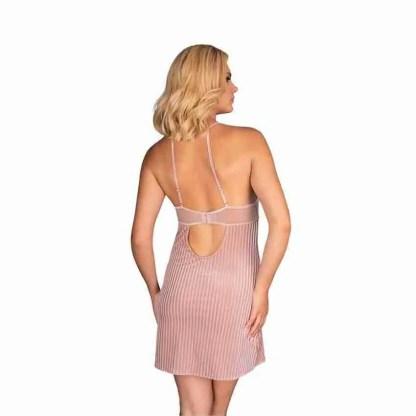 Corsetti Thorjako Nightdress And Thong Pink 2