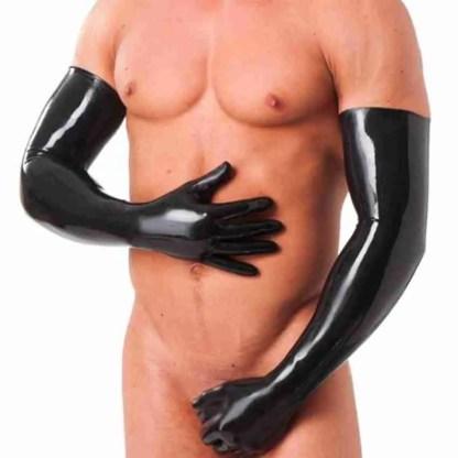 Rubber Secrets Long Gloves 2