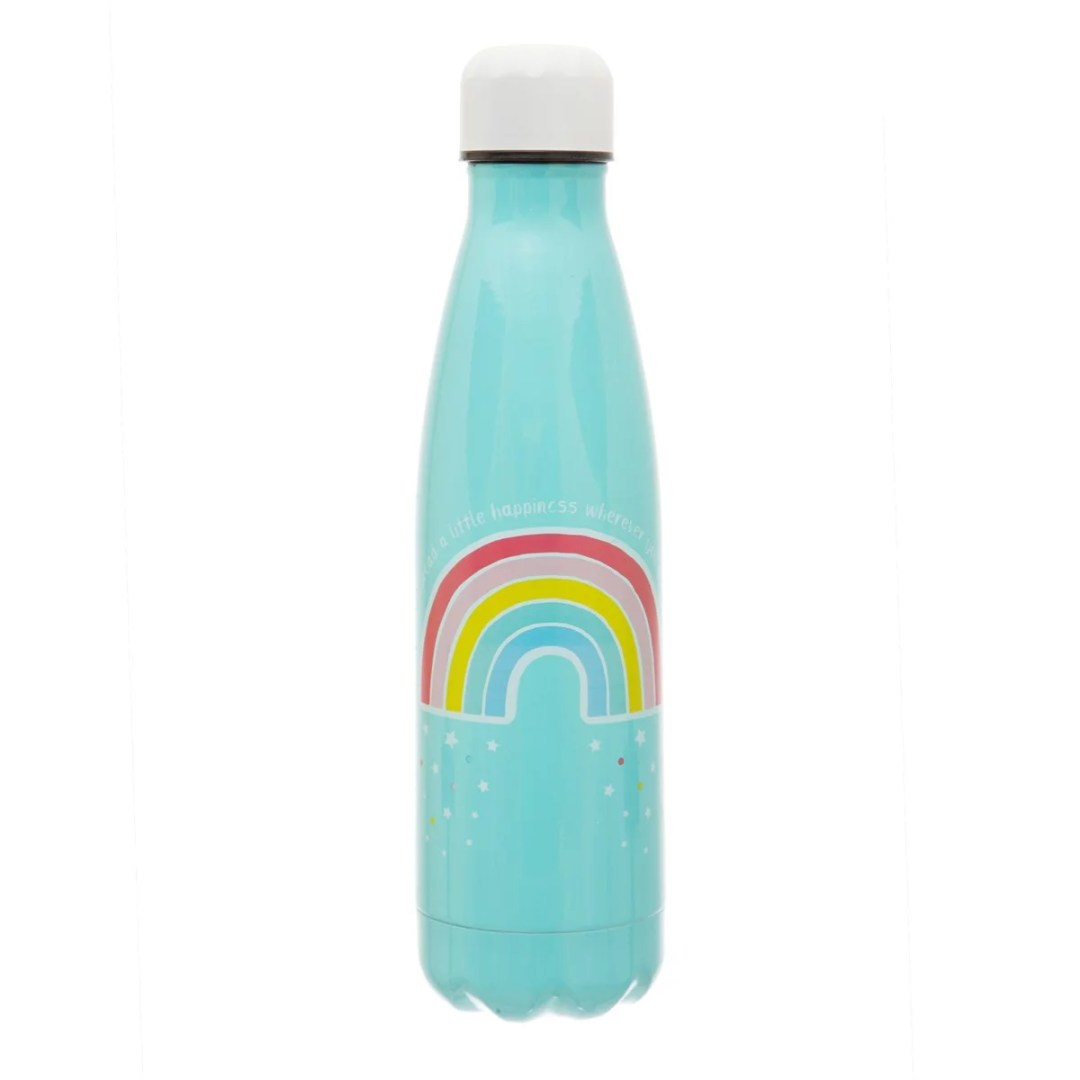 Edelstahlflaschen mit Druck