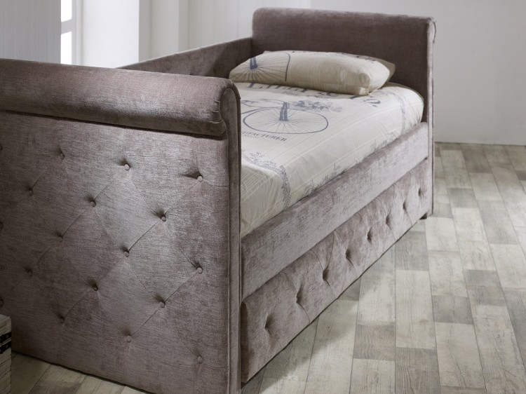 Limelight Zodiac Day Bed and Trundle Guest Bed in Mink