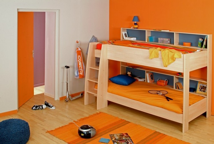 Parisot Thuka Beds Tam Tam 1 Childrens Bunk Bed Frame by