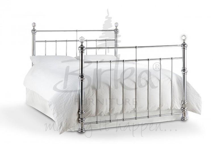 Birlea Georgina 5ft King Size Chrome Metal Bed Frame With