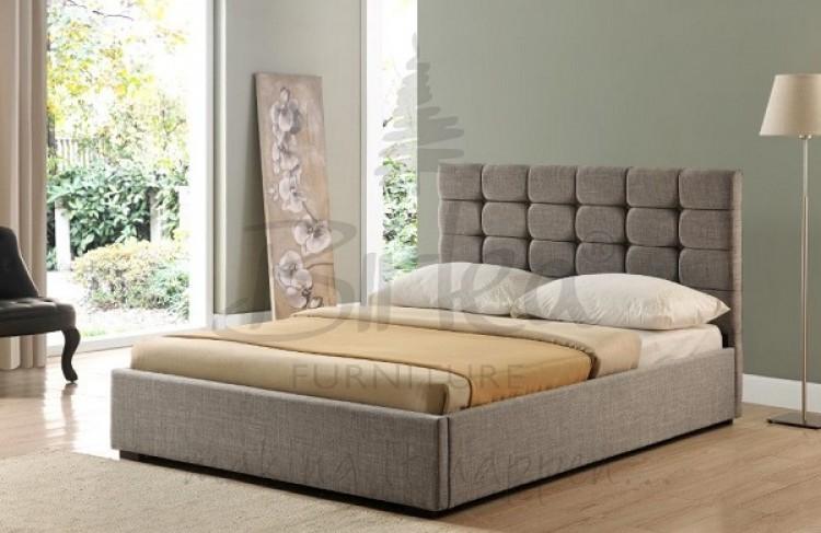 Birlea Isabella 4ft6 Double Grey Upholstered Fabric