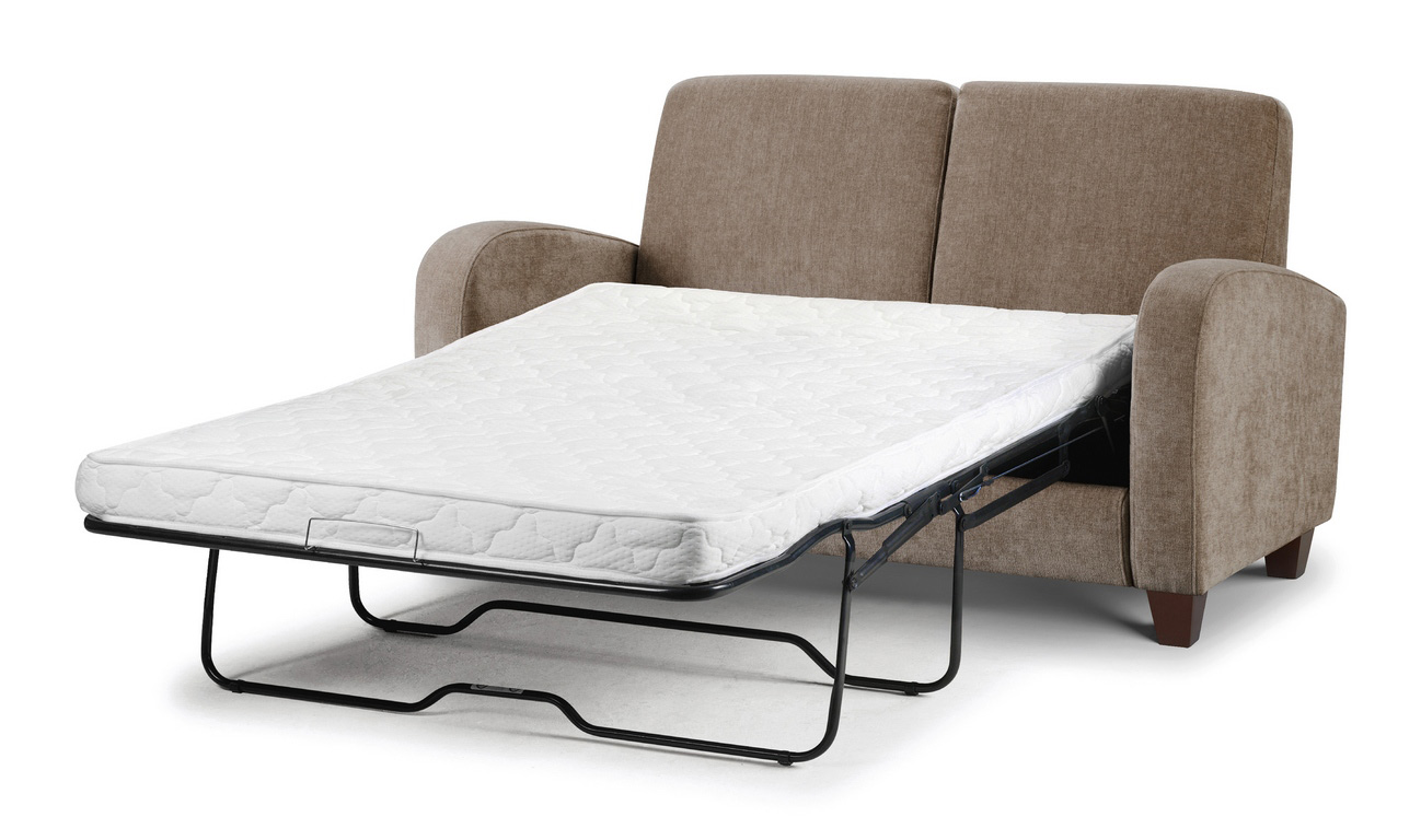 2 seat sofa bed uk broyhill laramie and loveseat julian bowen vivo seater mink fabric