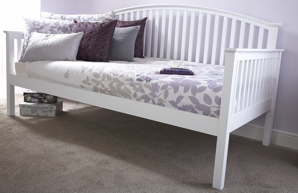 Milan Bed Company Madrid Day Bed White