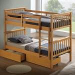 Artisan New Wooden Bunk Bed Beech