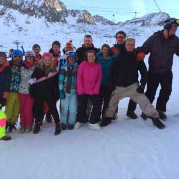 Beds YFC Hit The Slopes