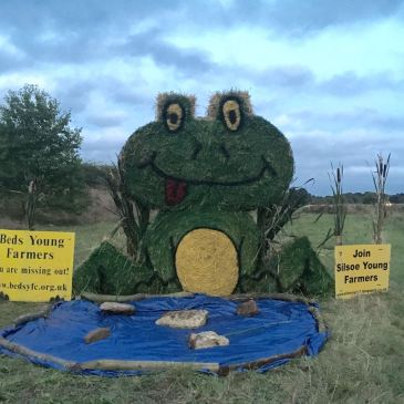 Beds YFC Bale Sculpture Competition