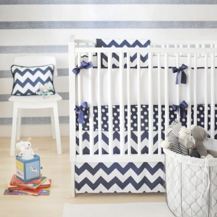 Chevron Baby Bedding – Trending Baby Decor
