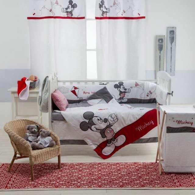 Magical Mickey Mouse Nursery – Adorable Bedding and Decor