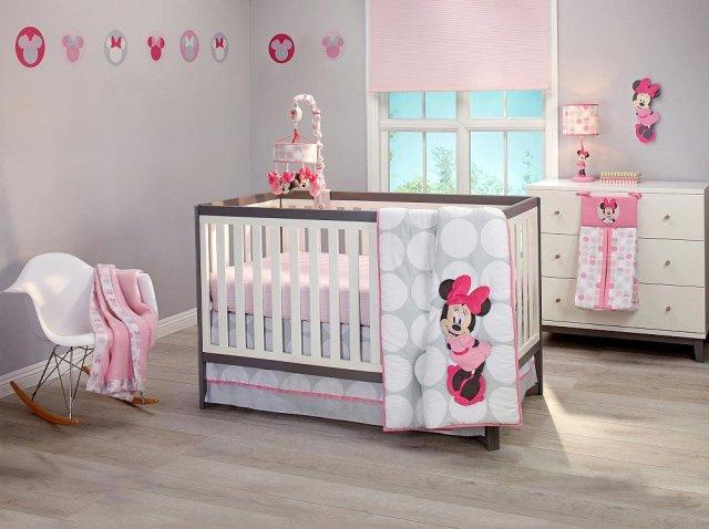 Minnie Mouse Nursery Decor - Polkadots by NoJo