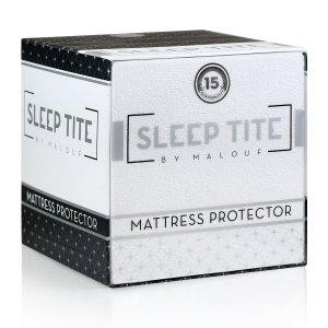 SLEEP TITE Hypoallergenic 100% Waterproof Mattress Protector