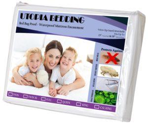 Utopia Bedding Bed Bug Proof Mattress Encasement