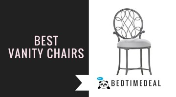 Best Vanity Chairs for Seating into Rooms with Limited Space