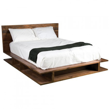 Platform bed support systems