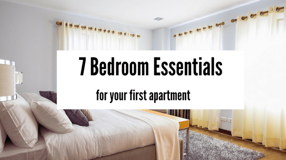Apartment Room Essentials 7 bedroom essentials for your first apartment