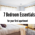 7 Bedroom Essentials for Your First Apartment