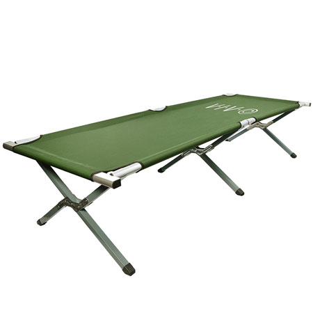 VIVO Cot, Green Fold up Bed