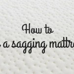How to fix a sagging mattress easily