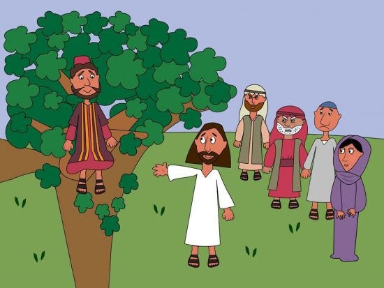 Resultado de imagen para zacchaeus funny