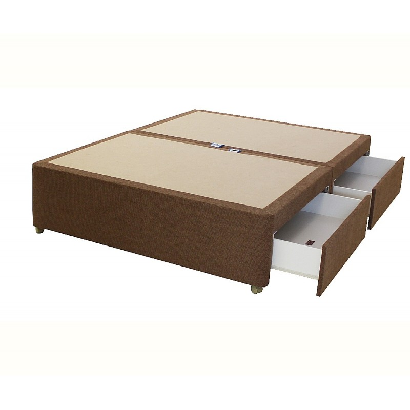 leather sofa bed with sprung mattress pics of tables amber 4 drawer divan base