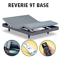 Reverie 9T Wireless Adjustable Base with Bluetooth - Best Adjustable Base Foundation