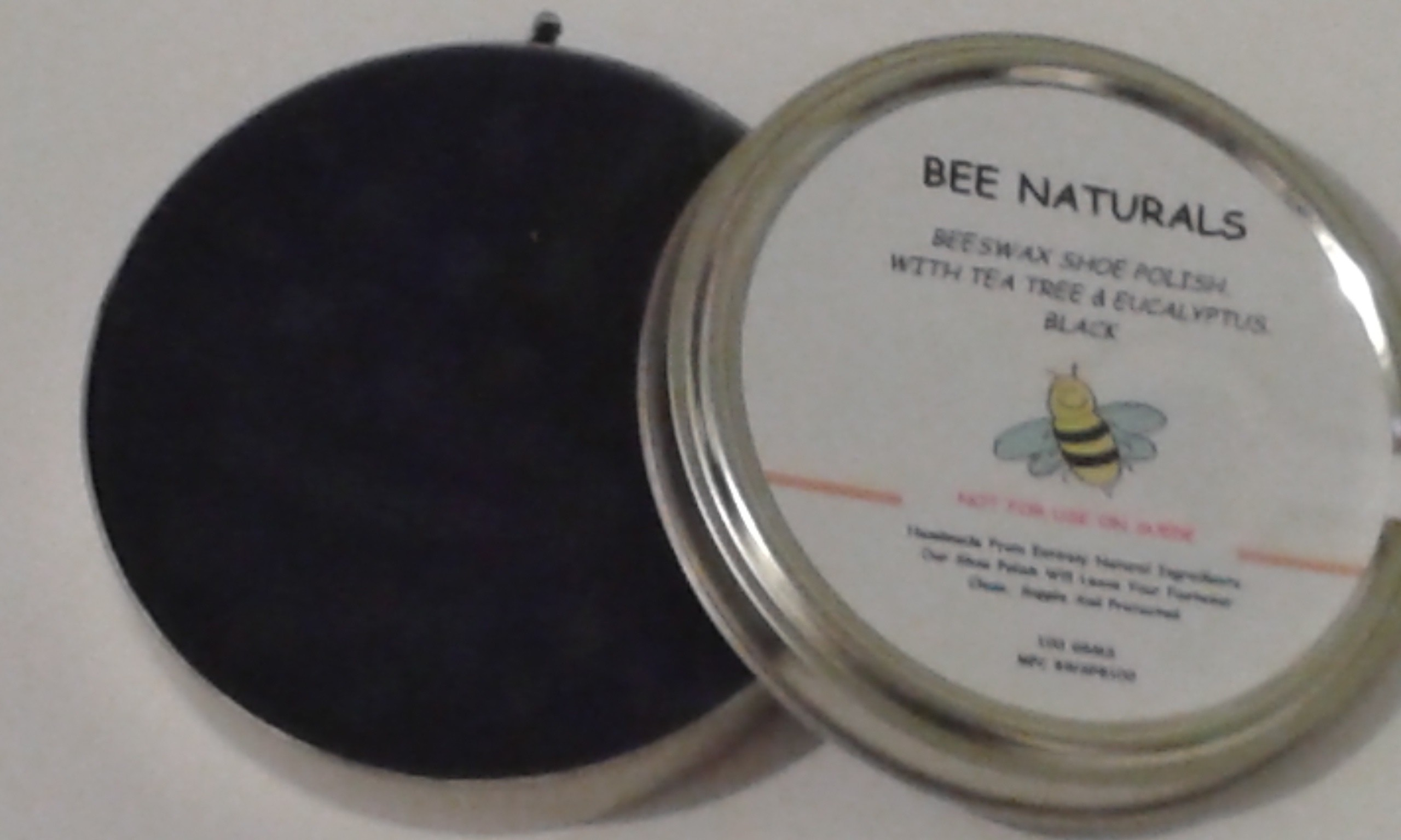 purchase cheap 50% price where can i buy Handmade Beeswax And Carnauba Wax Black Shoe Polish | BEE NATURALS ...