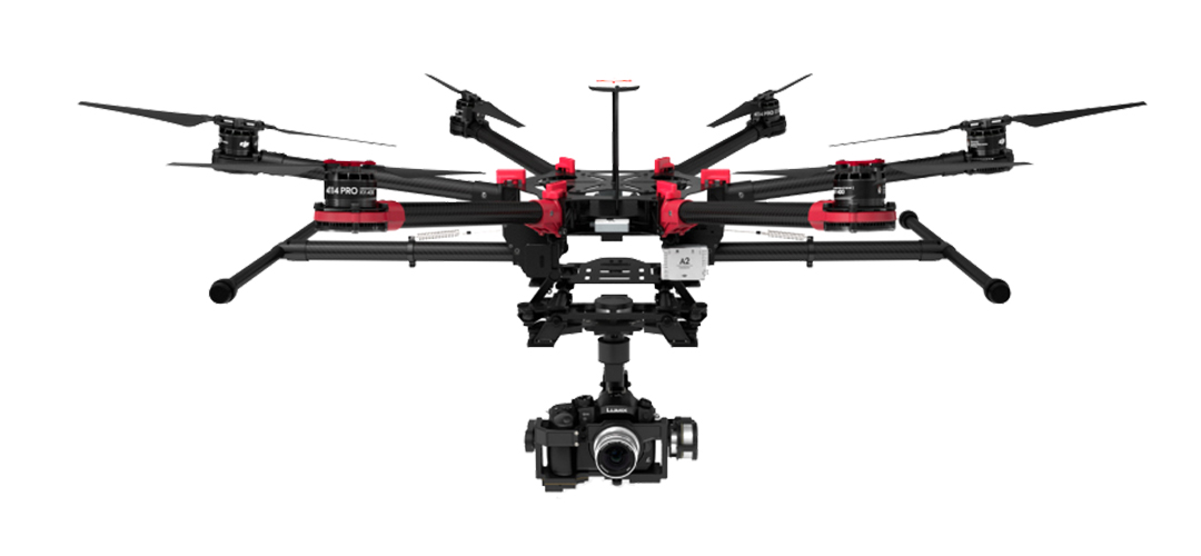 DJI S900 Hexacopter Drone with Panasonic GH4 for hire
