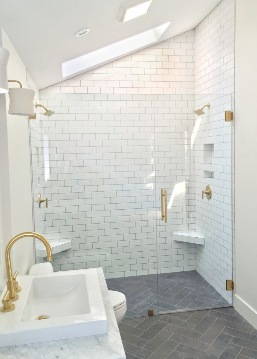 Master Bathroom Remodel Modern Transformation by Beebout Design