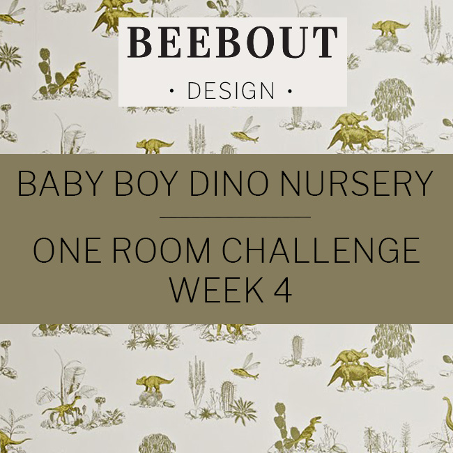One Room Challenge Week 4 by Beebout Design