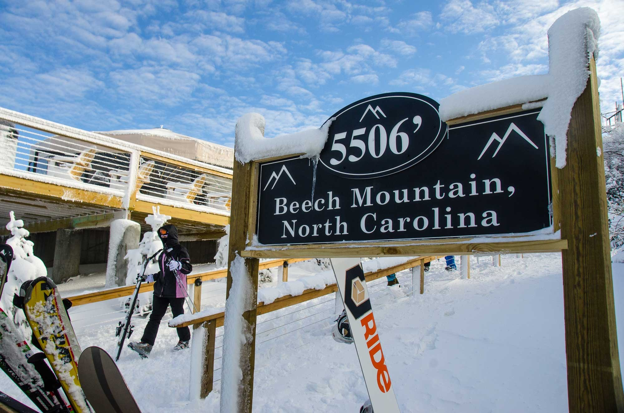 Beech Mountain Ski Resort Map