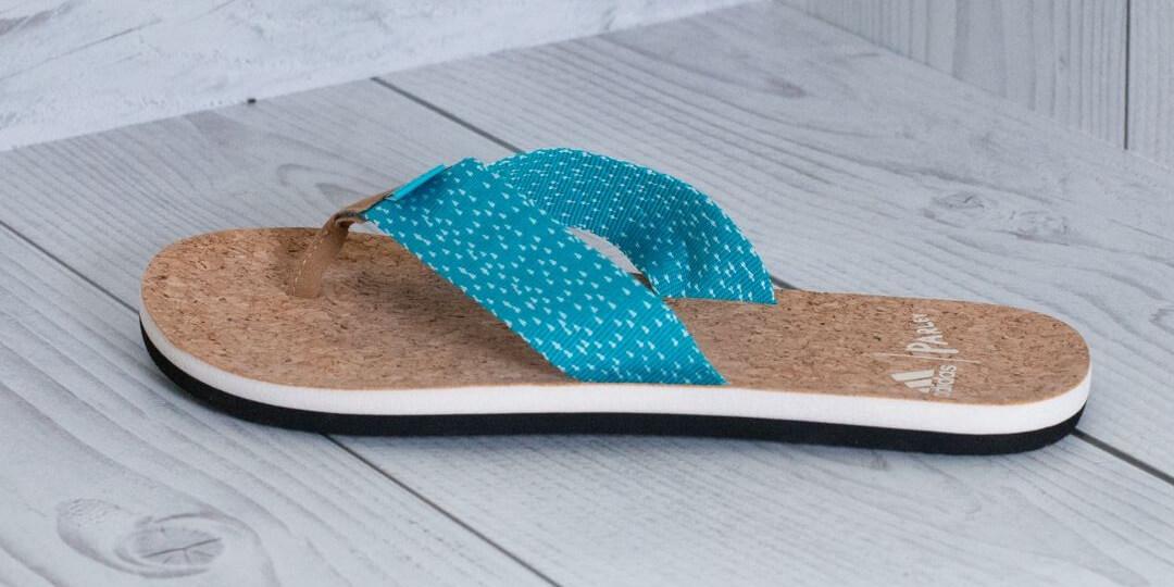 blue-cork-adidas-sustainable-flip-flops