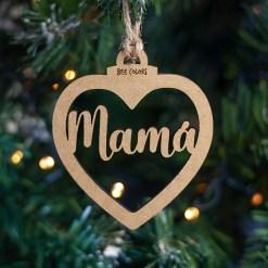 bola-navidad-madera-corazon-mama