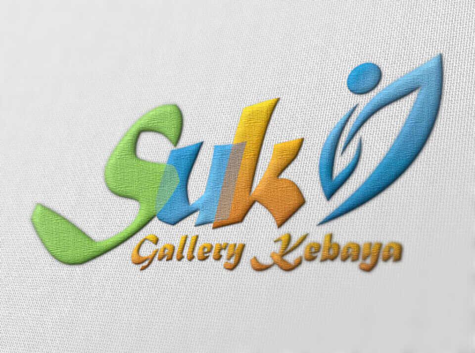 Desain Identity Suki  Portfolio desain logo suki bordir gallery kebaya pakaian